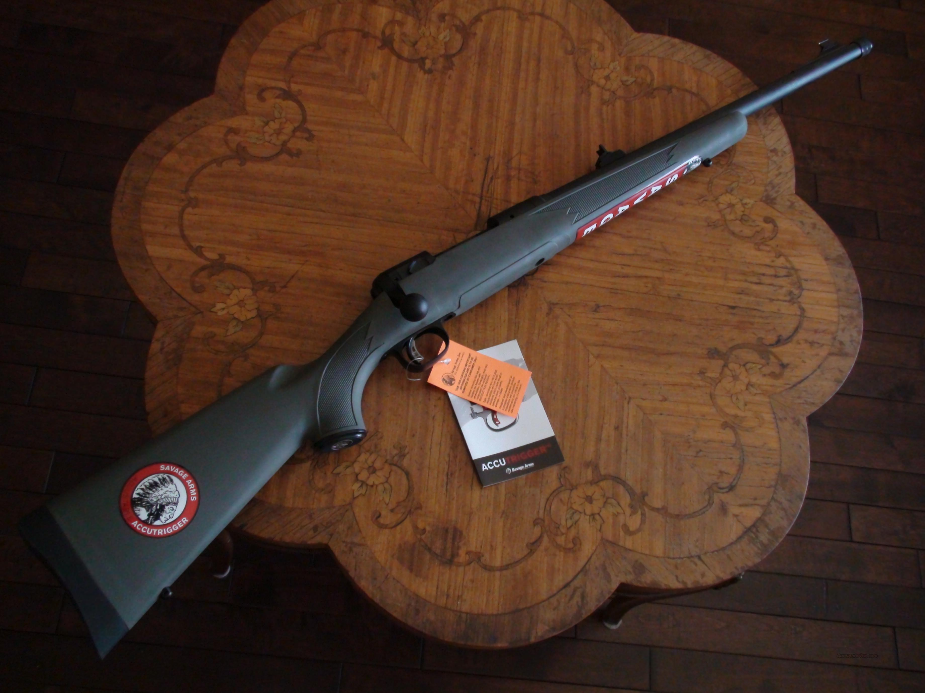 SAVAGE 11/111 HOG HUNTER  Guns > Rifles > Savage Rifles > Accutrigger Models > Tactical