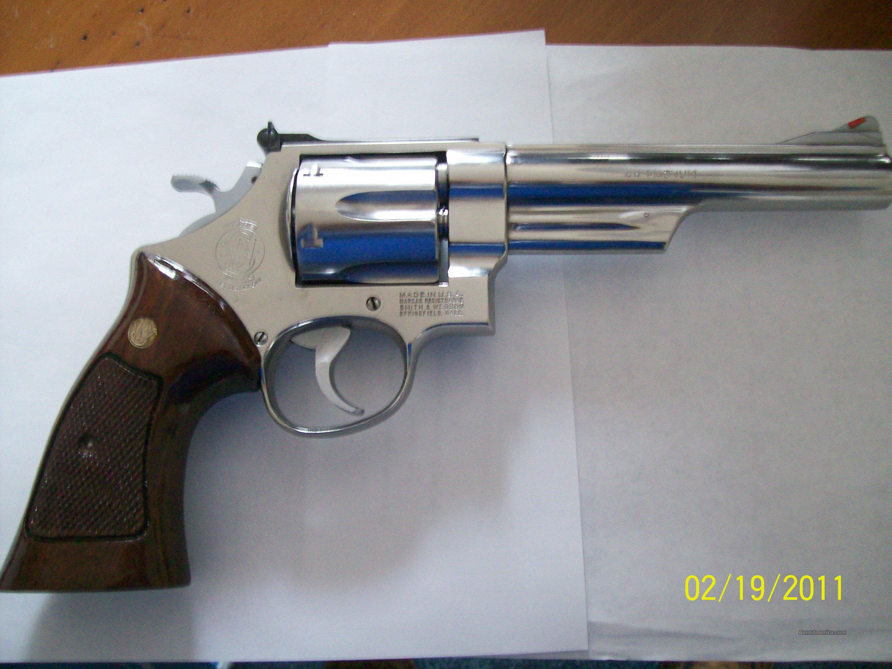 S&W 44 Magnum - Model 629-1  Guns > Pistols > Smith & Wesson Revolvers > Model 629