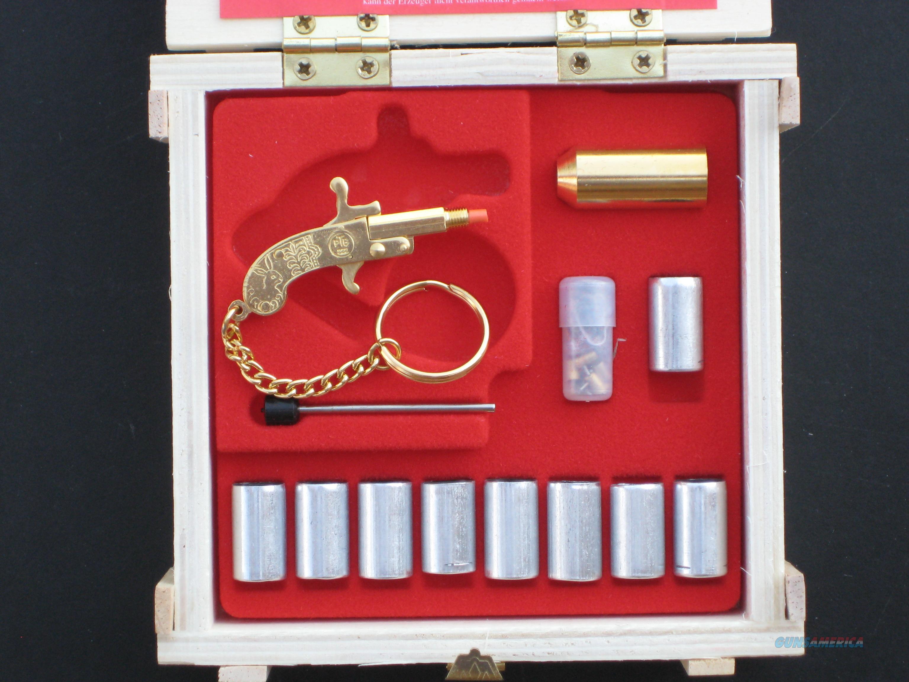 2mm PINFIRE BERLOQUE MINIATURE CAP GUN FLARE GUN SET ( LUXURY VERSION)  Non-Guns > Curios