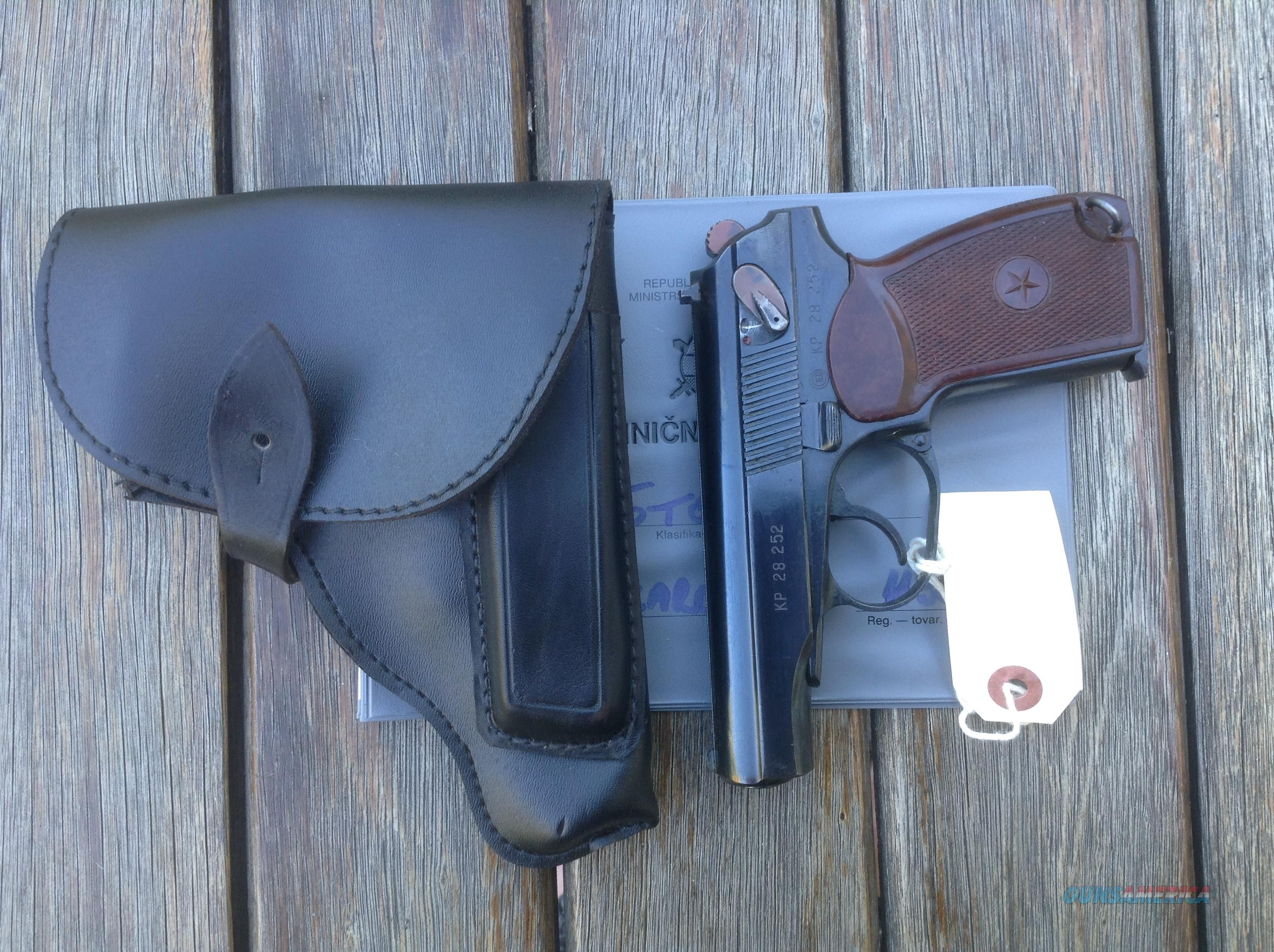 Makarov Bulgarian Pistol 9x18 mm. Unissued. Excellent Condition  Guns > Pistols > Military Misc. Pistols Non-US