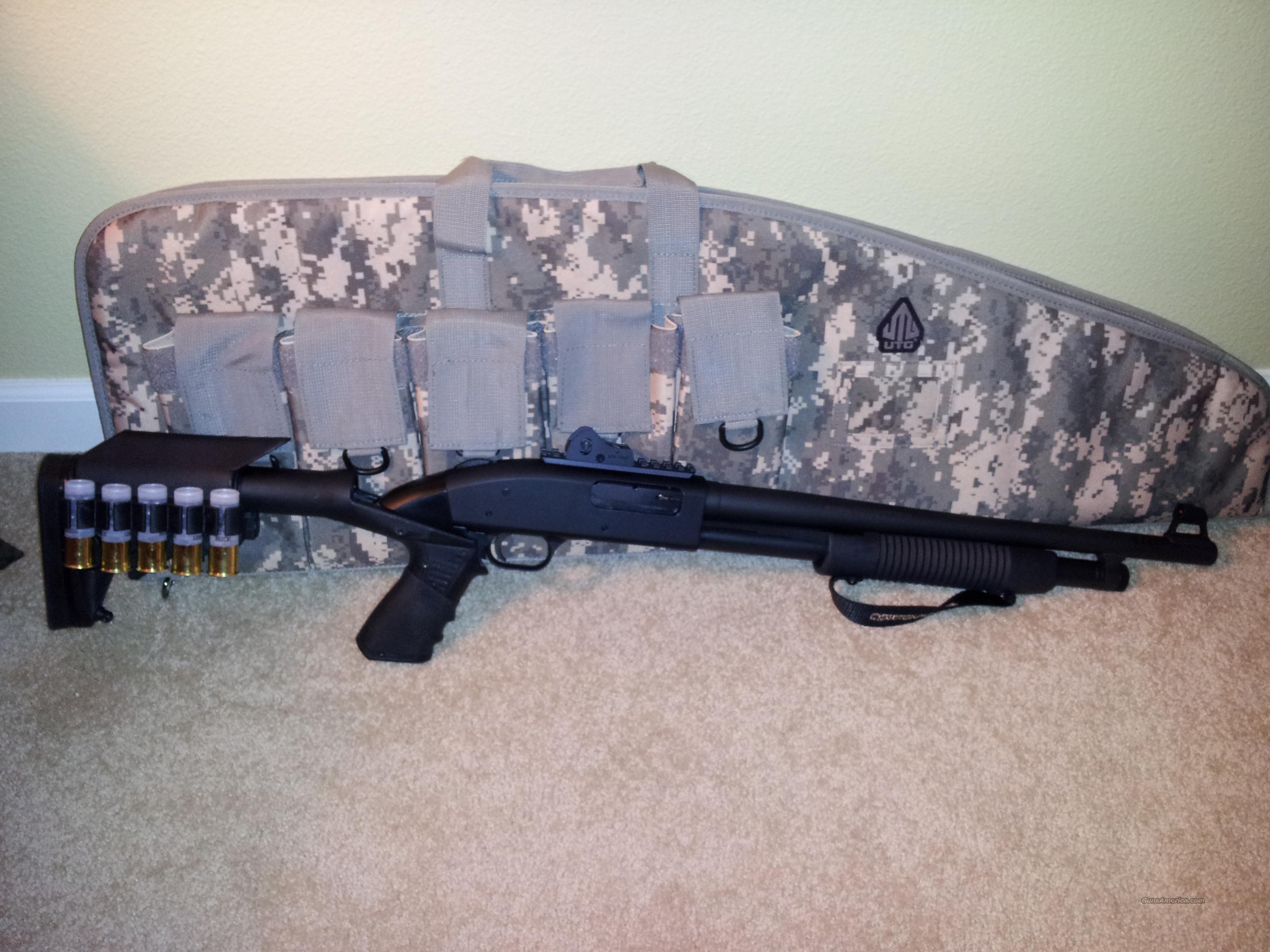 Mossberg 500 SPX Tactical + upgrades + bag  Guns > Shotguns > Mossberg Shotguns > Pump > Tactical