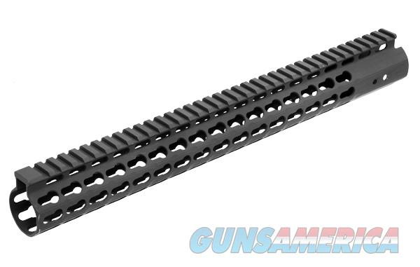 "UTG PRO AR15 15"" SuperSlim Free Float Keymod Compatible Rail QUAD-MTU019SSK  Non-Guns > Gun Parts > Grips > Other"