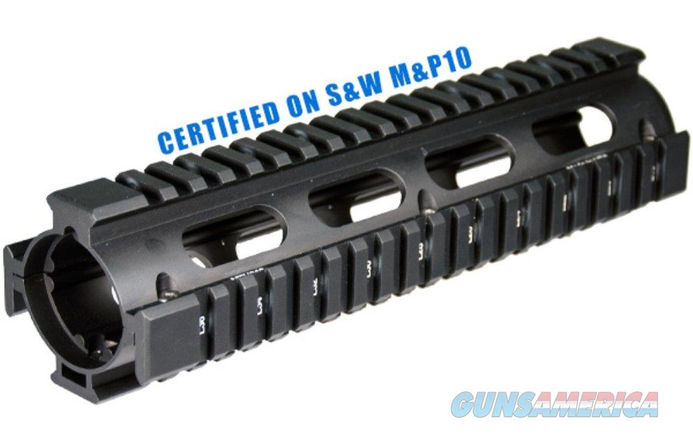 UTG PRO AR Style Model 308 2Piece Drop-in Mid Length Quad Rail System  Non-Guns > Gun Parts > Grips > Other