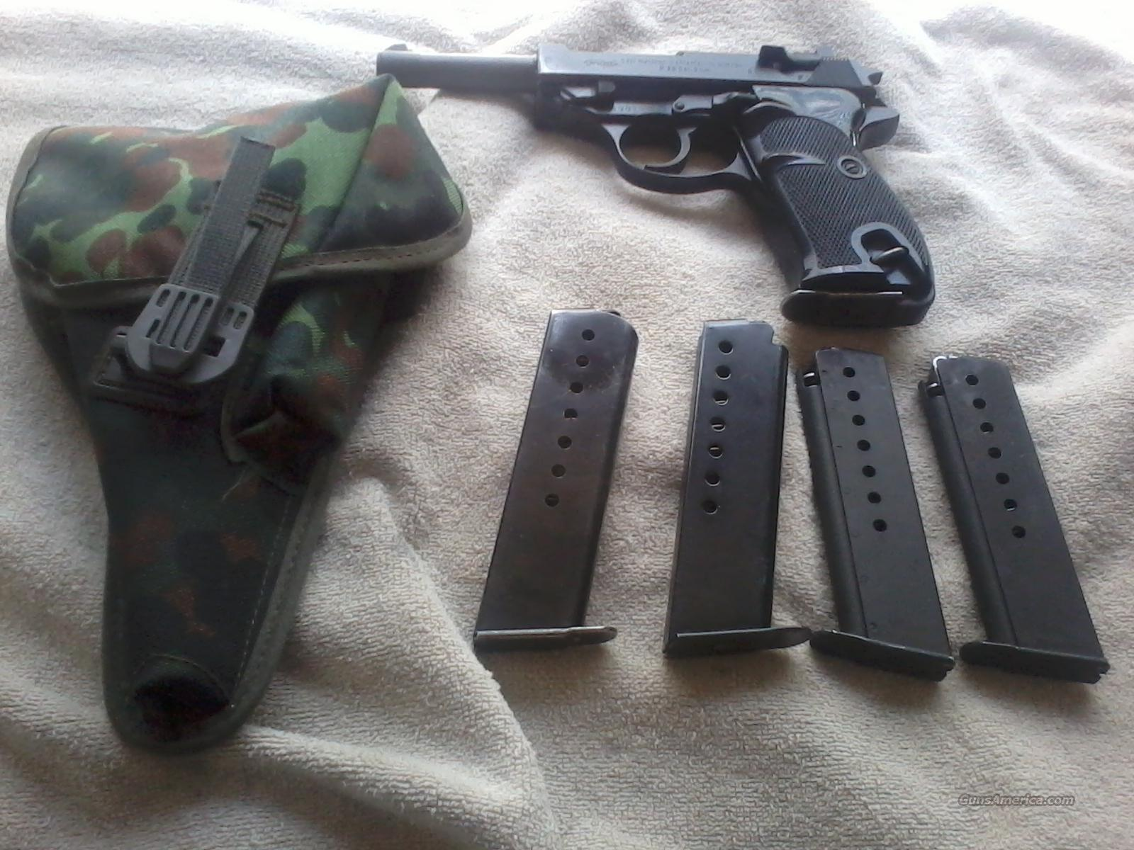 walther p38 post ww2 model near mint condition with extras  Guns > Pistols > Walther Pistols > Post WWII > P38