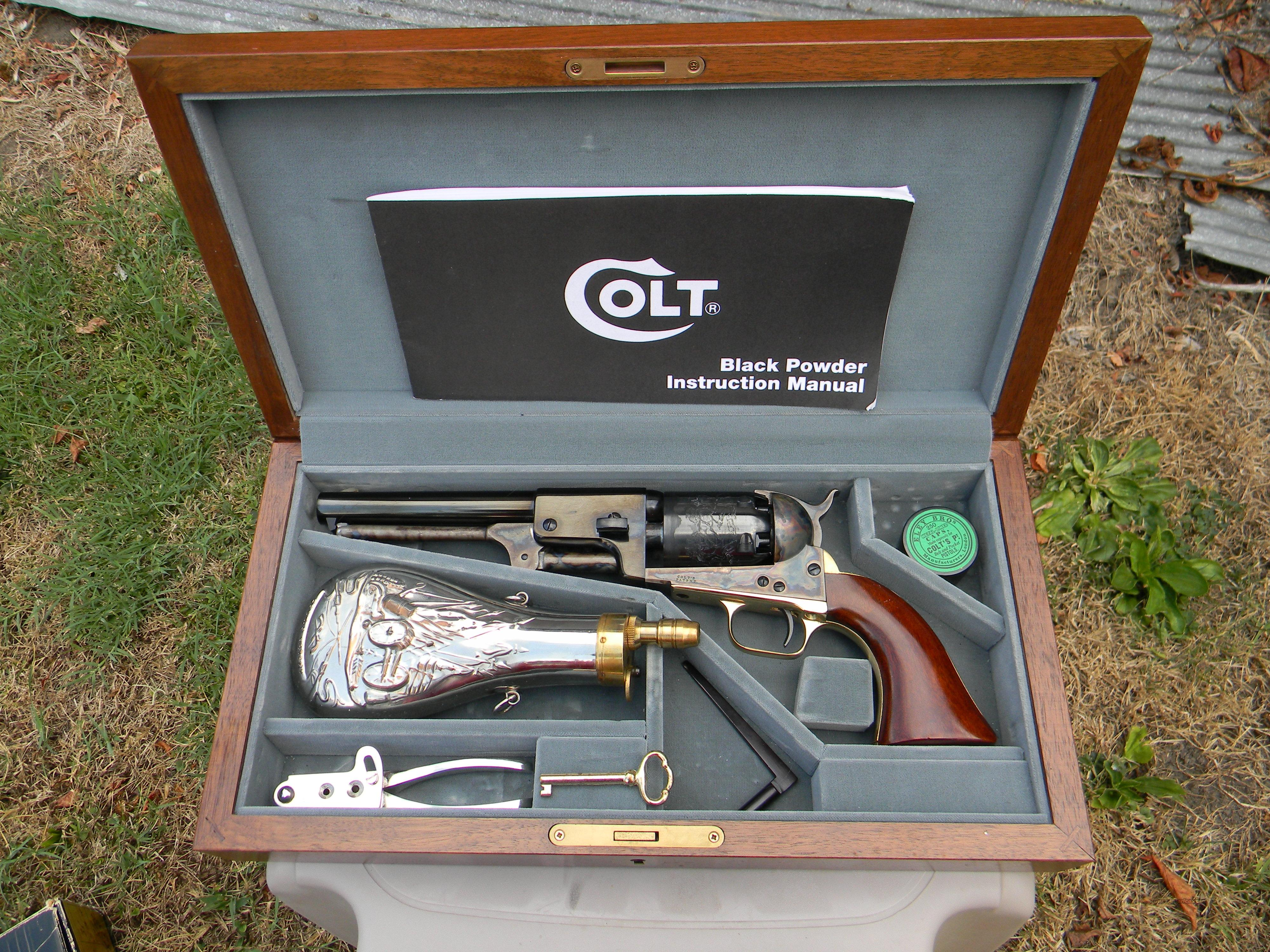 Colt Signature Series 3rd Model Dragoon  Guns > Pistols > Colt Percussion Revolver - Modern
