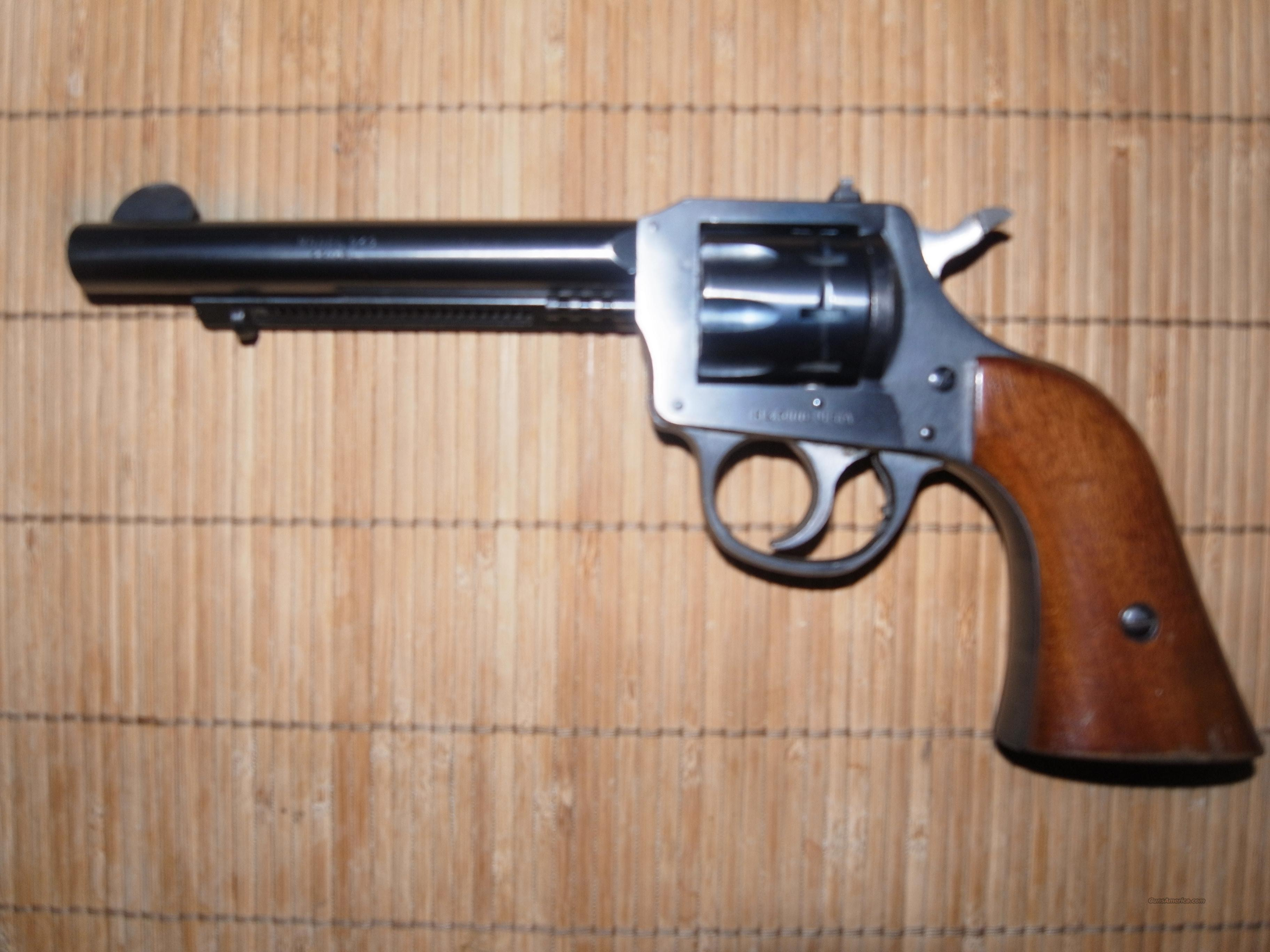 H &R Model 949 .22cal Revolver  Guns > Pistols > Harrington & Richardson Pistols