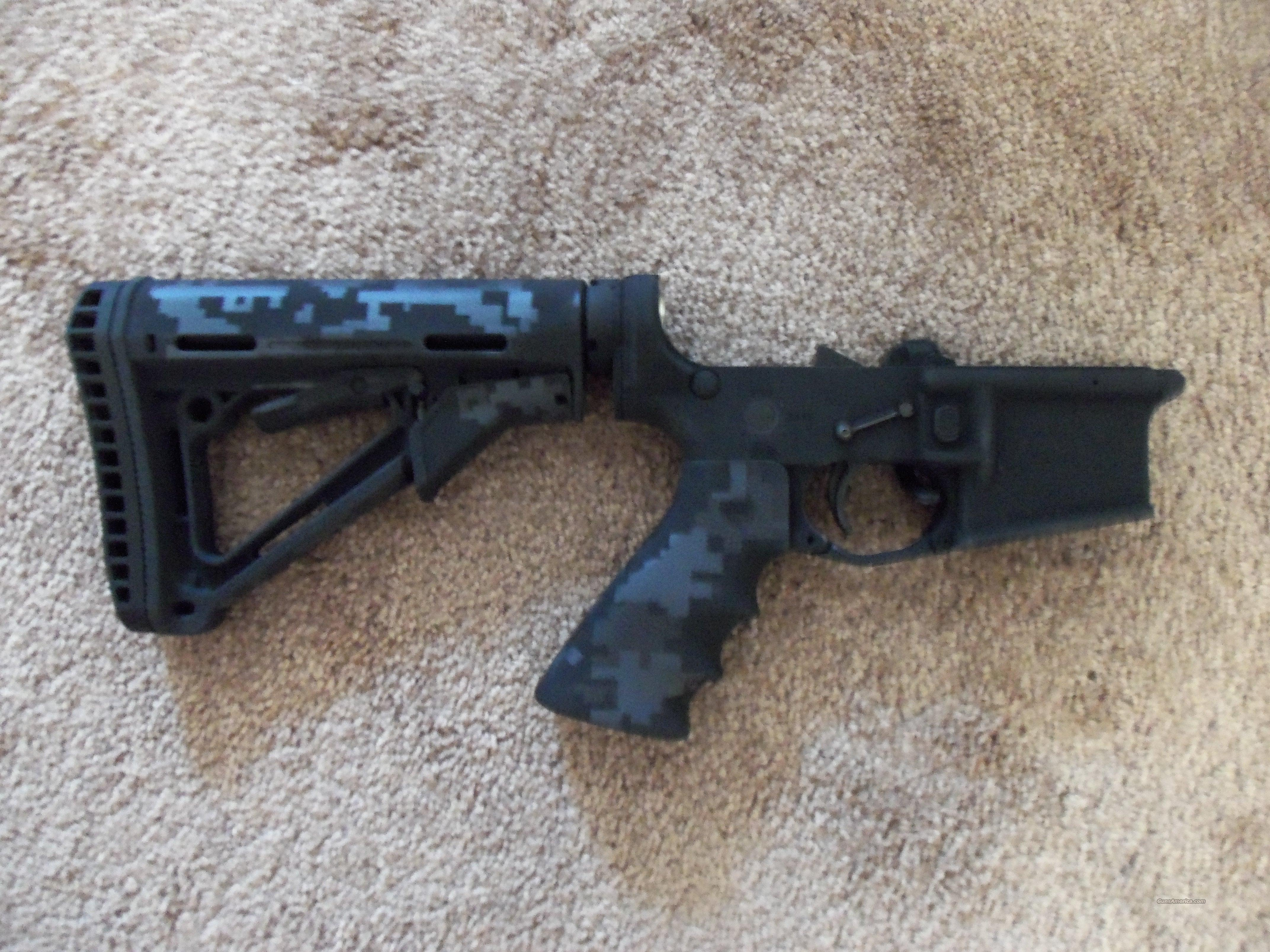 DPMS complete lower with extras and Duracoat  Guns > Rifles > AR-15 Rifles - Small Manufacturers > Lower Only