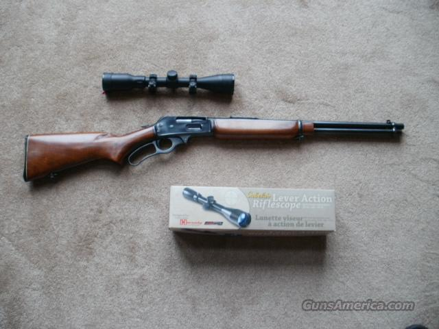 Marlin 336RC 30-30 with scope.  Guns > Rifles > Marlin Rifles > Modern > Lever Action