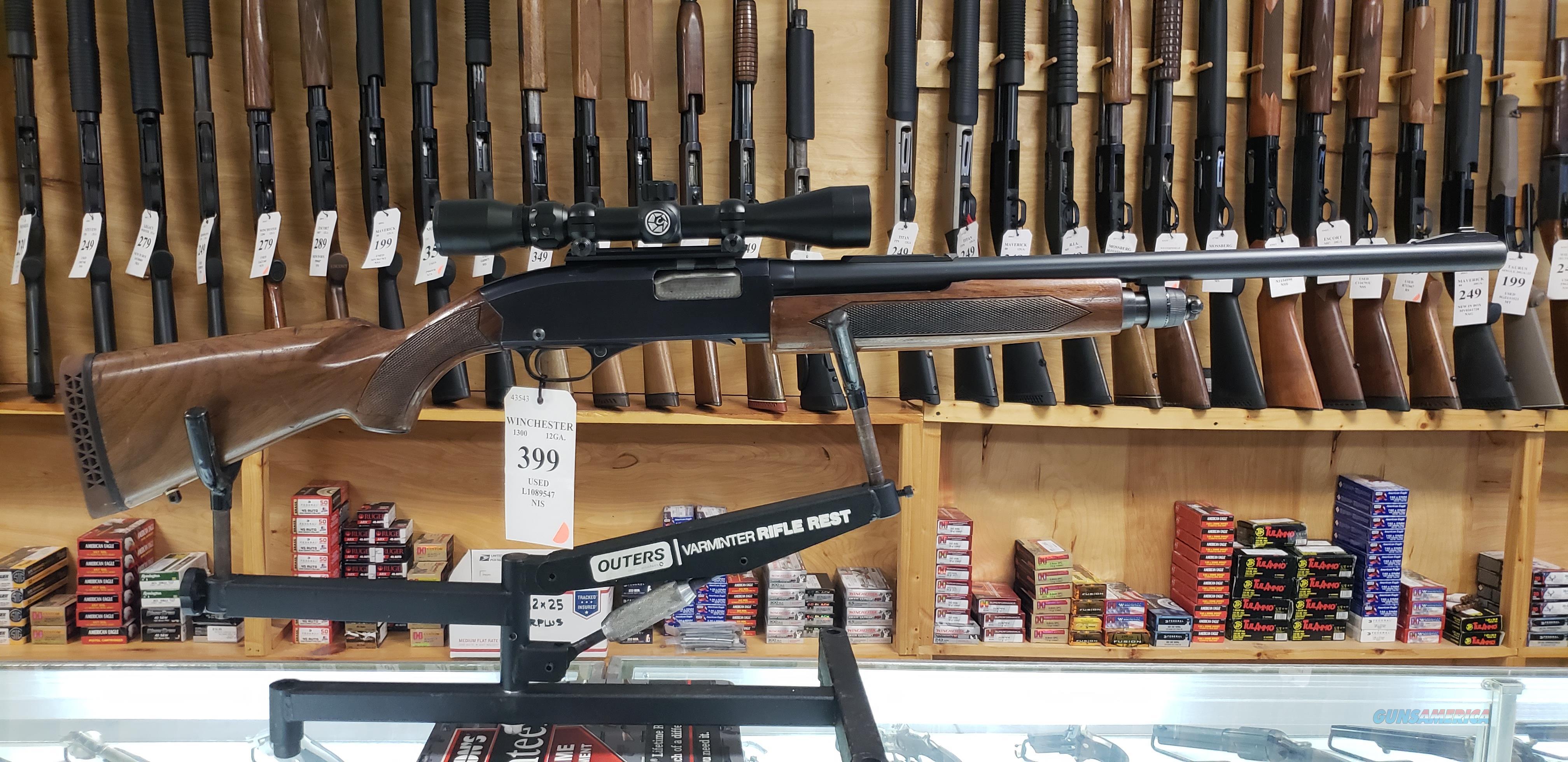 Winchester Model 1300 12GA Pump Action Rifled Shotgun *LAYAWAY AVAILABLE*  Guns > Shotguns > Winchester Shotguns - Modern > Pump Action > Deer Guns