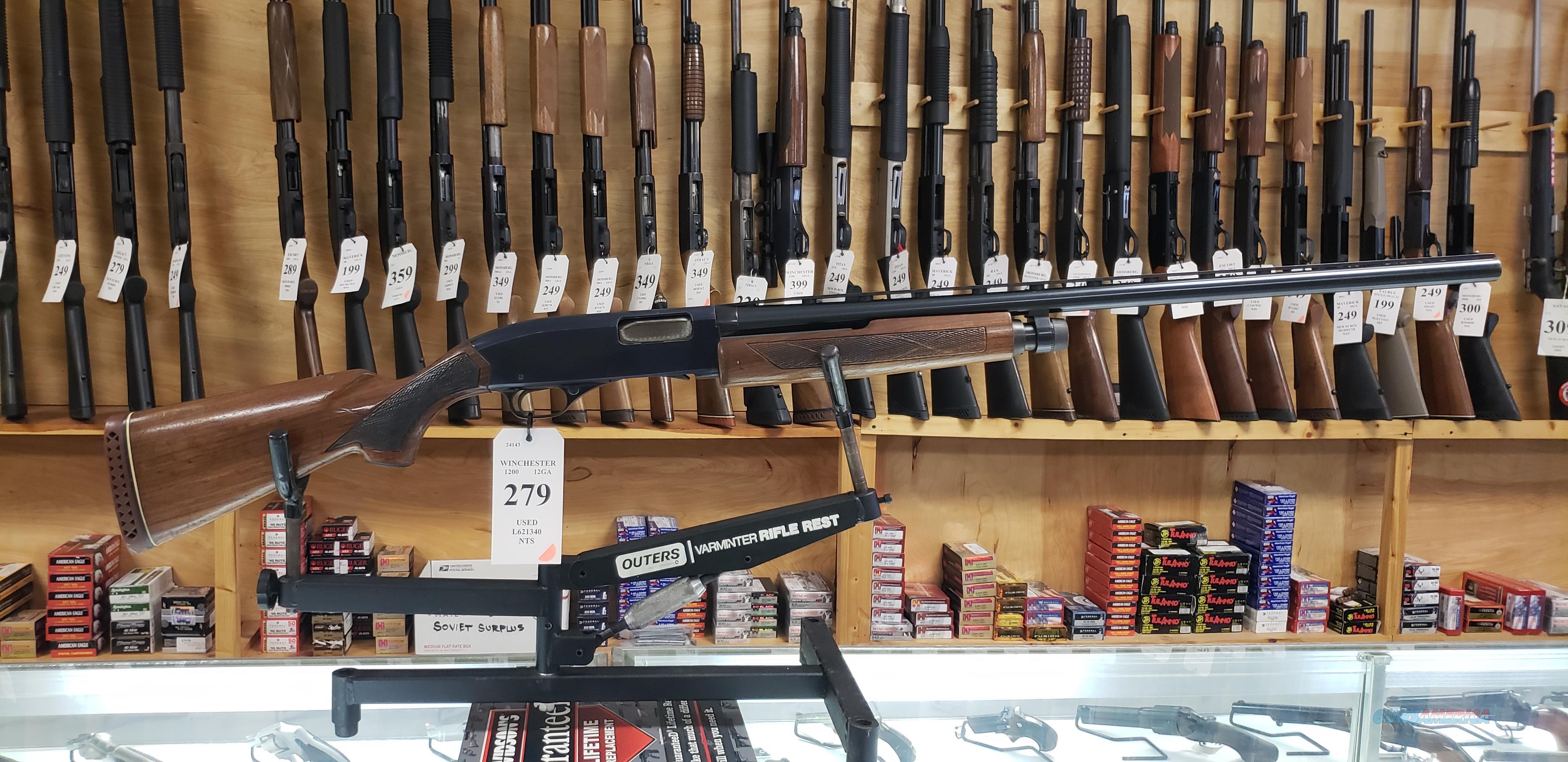 Winchester Model 1200 12GA Pump Shotgun *LAYAWAY AVAILABLE*  Guns > Shotguns > Winchester Shotguns - Modern > Pump Action > Hunting