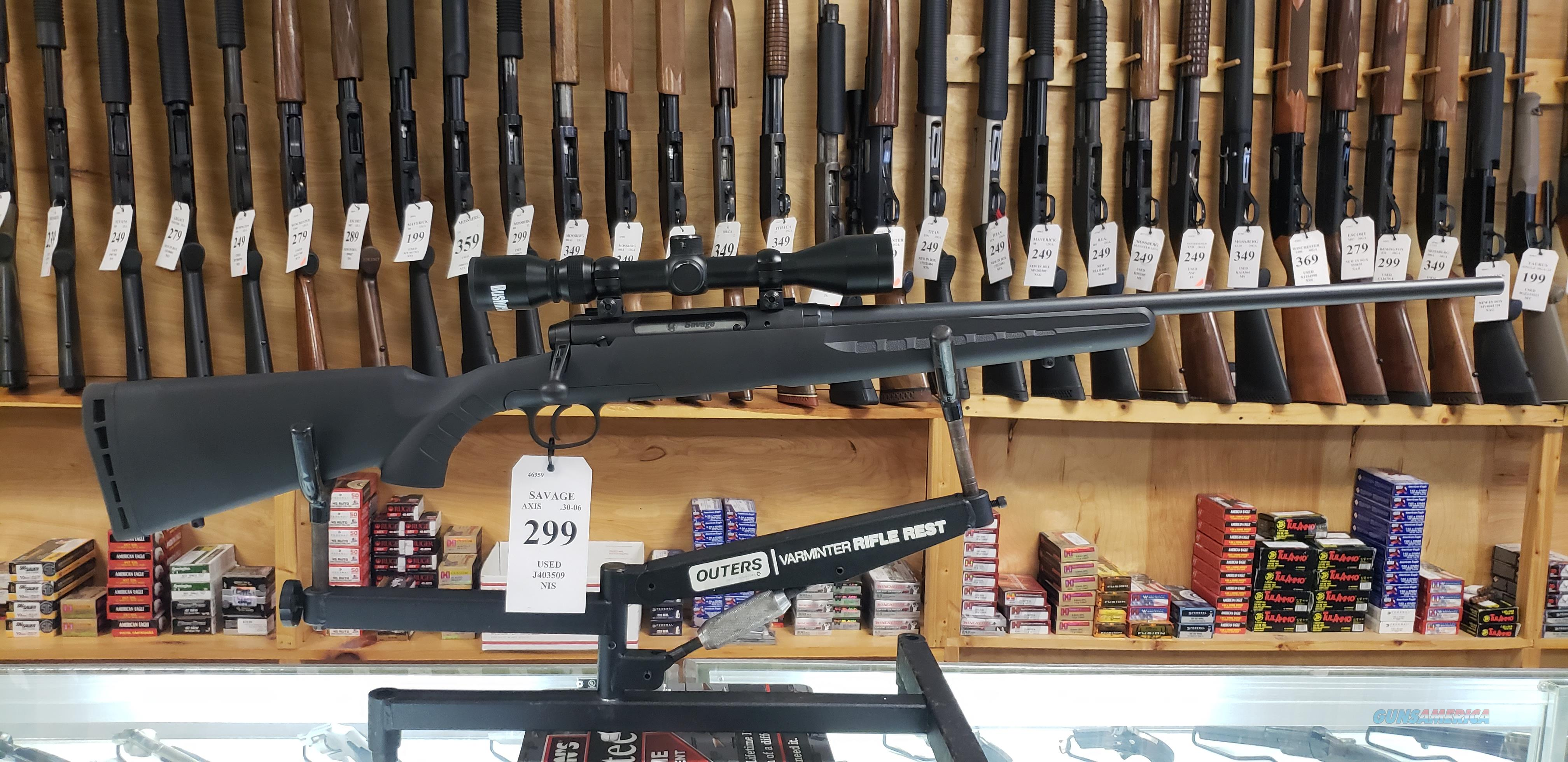 Savage Axis .30-06 Rifle with Scope *LAYAWAY AVAILABLE*  Guns > Rifles > Savage Rifles > Axis