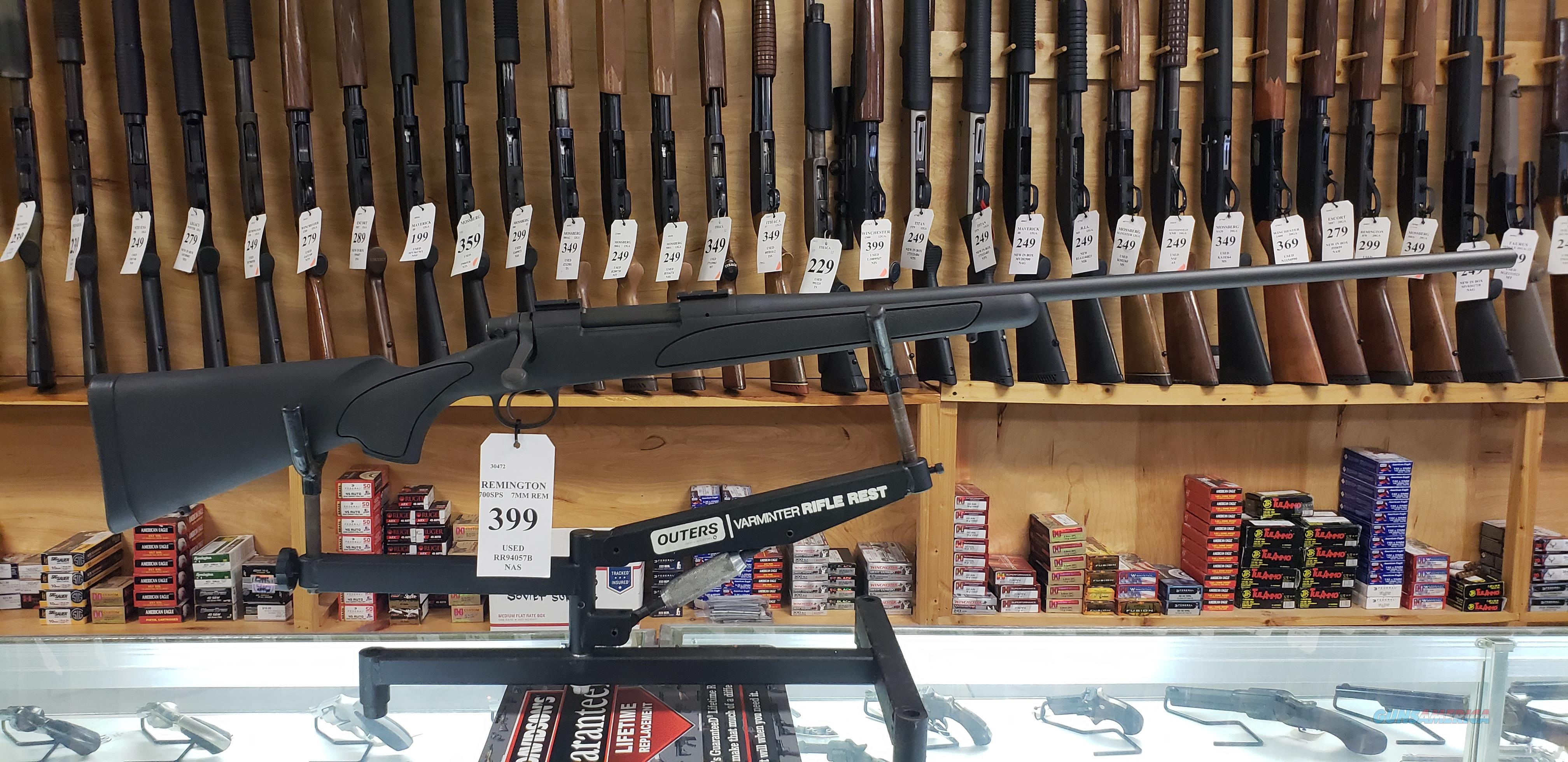 Remington 700 SPS in 7mm Remington Magnum *LAYAWAY AVAILABLE*  Guns > Rifles > Remington Rifles - Modern > Model 700 > Sporting
