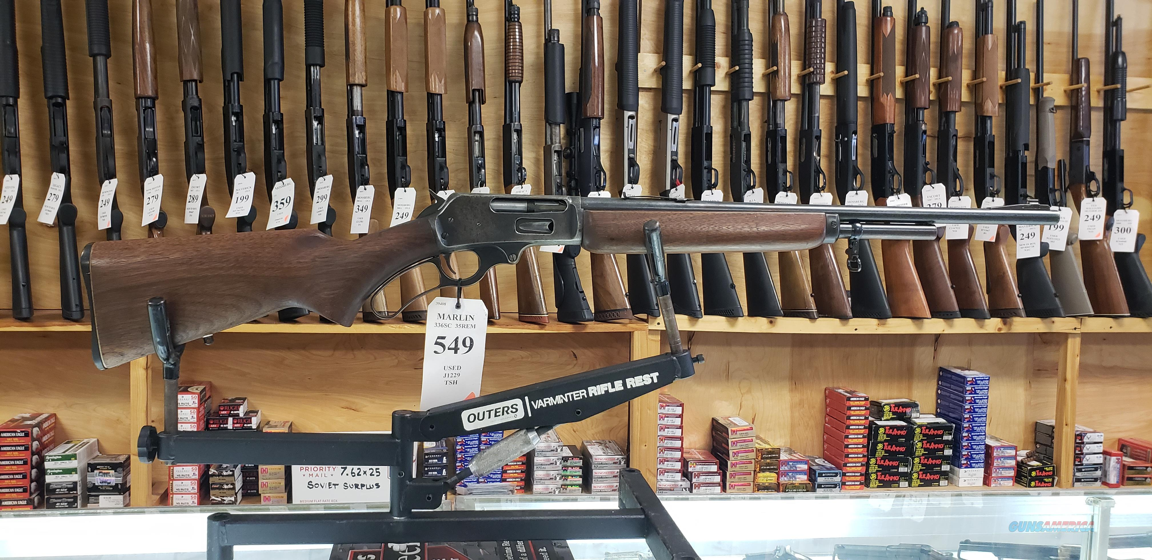 Marlin Model 336SC in .35 REM *LAYAWAY AVAILABLE*  Guns > Rifles > Marlin Rifles > Modern > Lever Action