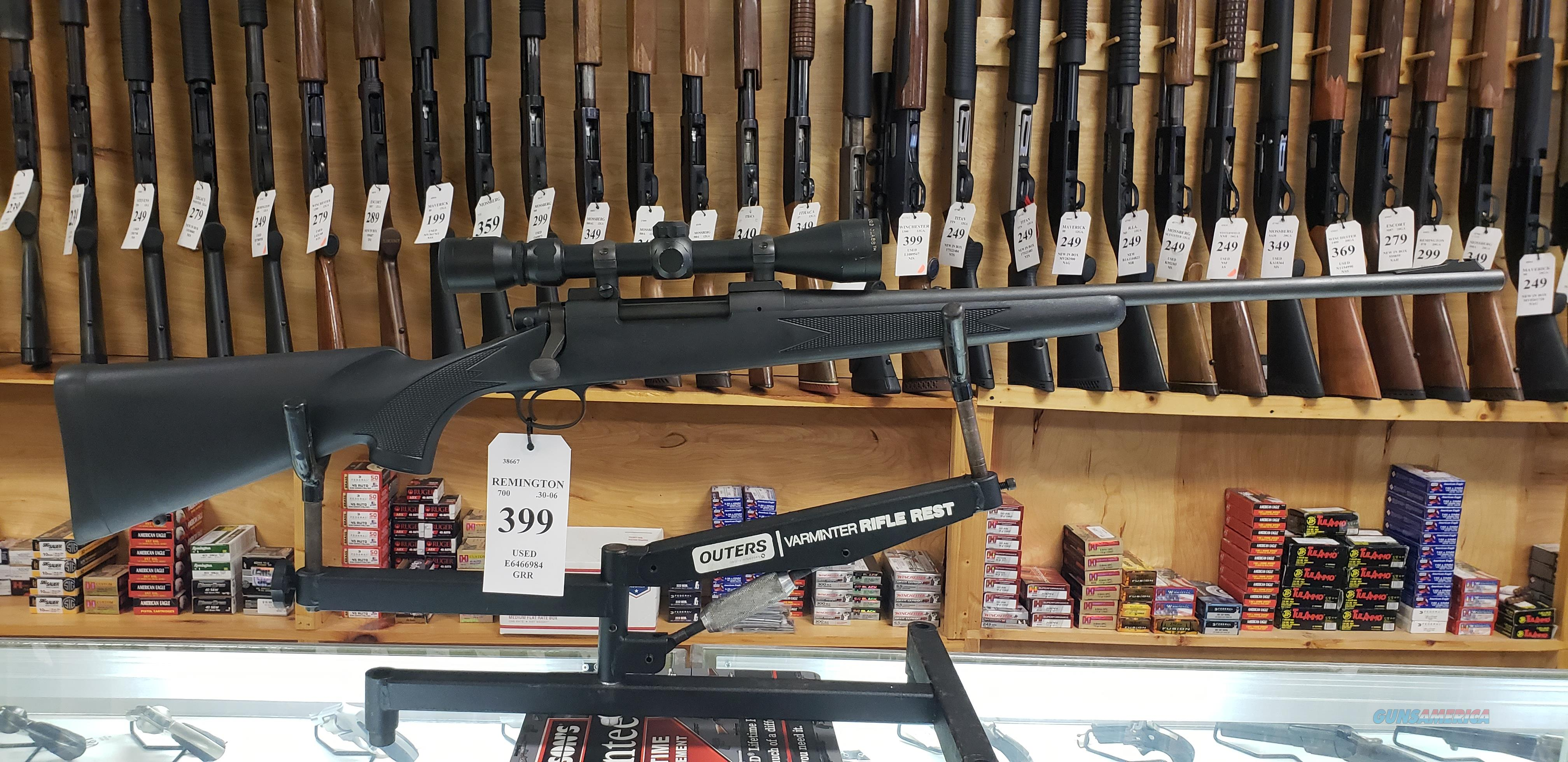 Remington 700 .30-06 with Scope *LAYAWAY AVAILABLE*  Guns > Rifles > Remington Rifles - Modern > Model 700 > Sporting