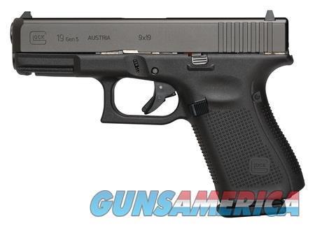 """Glock 19 Gen 5 PA1950203 NIB 9 MM 4.02"""" BBL 15+1  Guns > Pistols > Glock Pistols > 19/19X"""