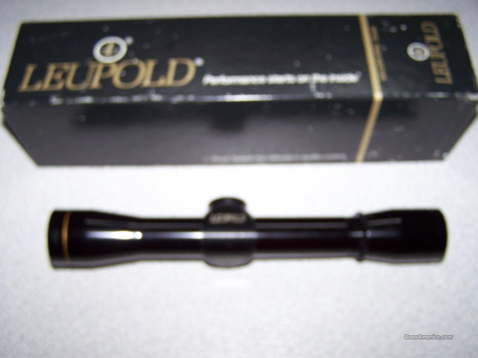 Leupold 4 Rimfire Special  Non-Guns > Scopes/Mounts/Rings & Optics > Rifle Scopes > Fixed Focal Length