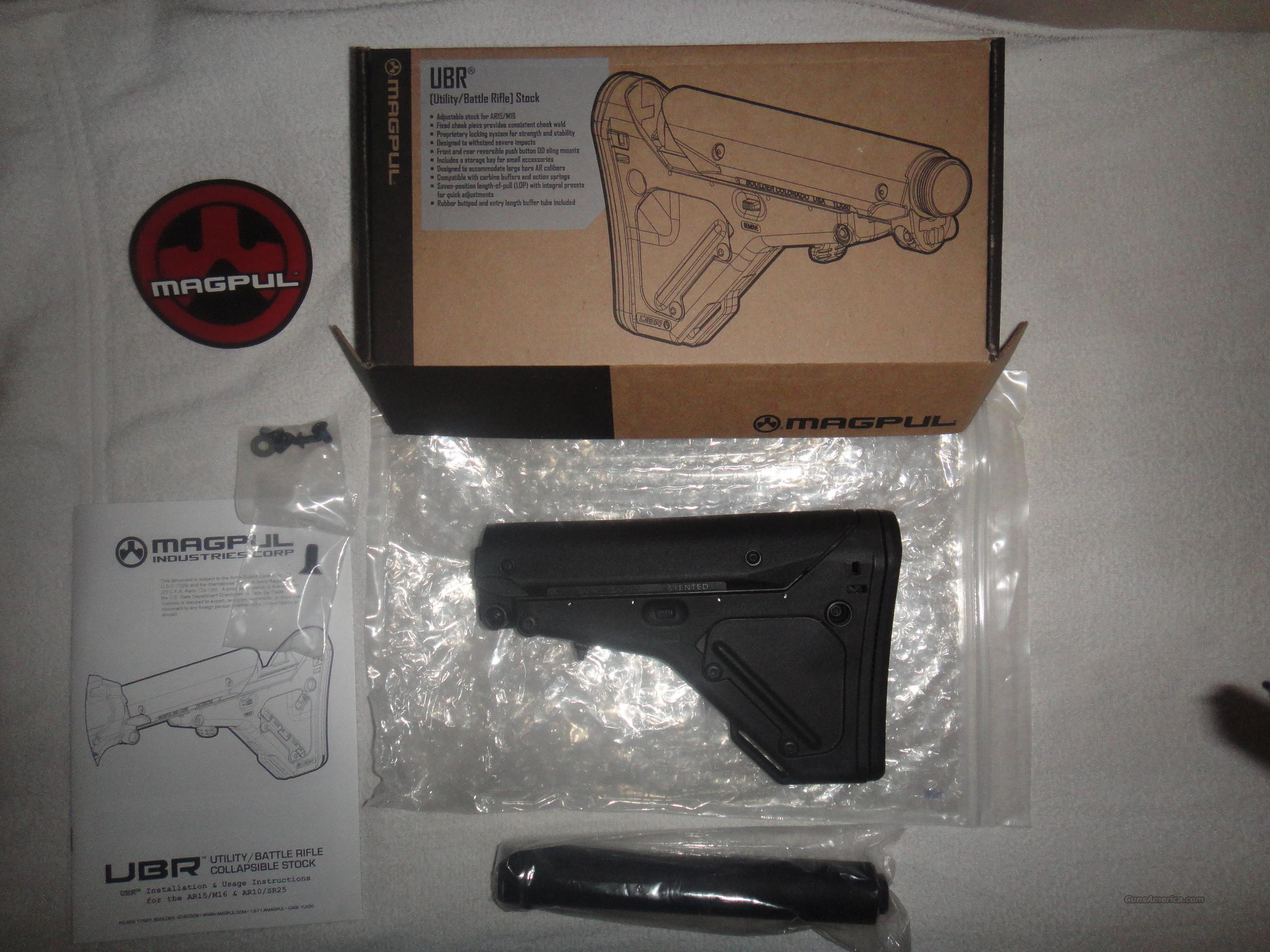 Mag Pul UBR Adjustable Stock  Non-Guns > Gun Parts > Stocks > Polymer