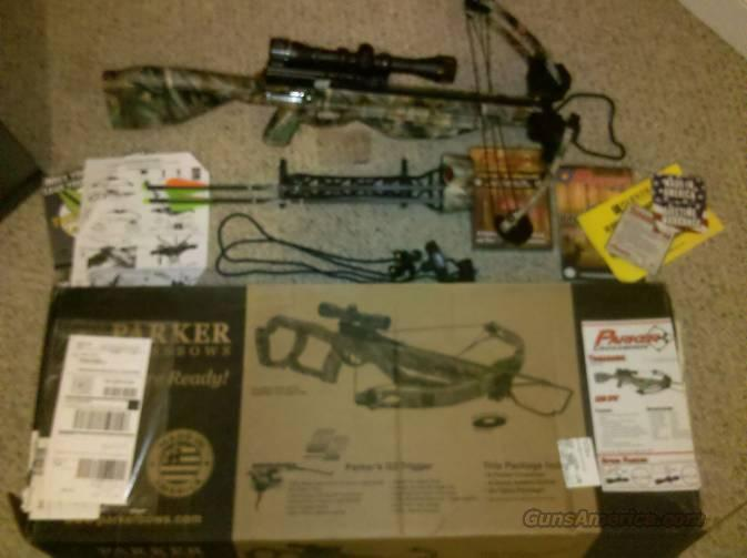 Parker Tomahawk (Thunderhawk) Crossbow Package ALOT of Extras!   Non-Guns > Archery > Bows > Crossbows