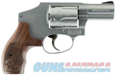 """Smith & Wesson 150784 640 Machine Engraved Double 357 Magnum 2.125"""" 5 rd Wood Engraved Grip  Guns > Pistols > Smith & Wesson Revolvers > Full Frame Revolver"""