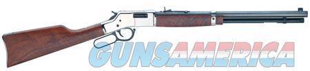 "Henry H006SD Big Boy Silver Deluxe Engraved  Lever 44 Remington Magnum 20"" 10+1 American Walnut Stk  Guns > Rifles > Henry Rifles - Replica"