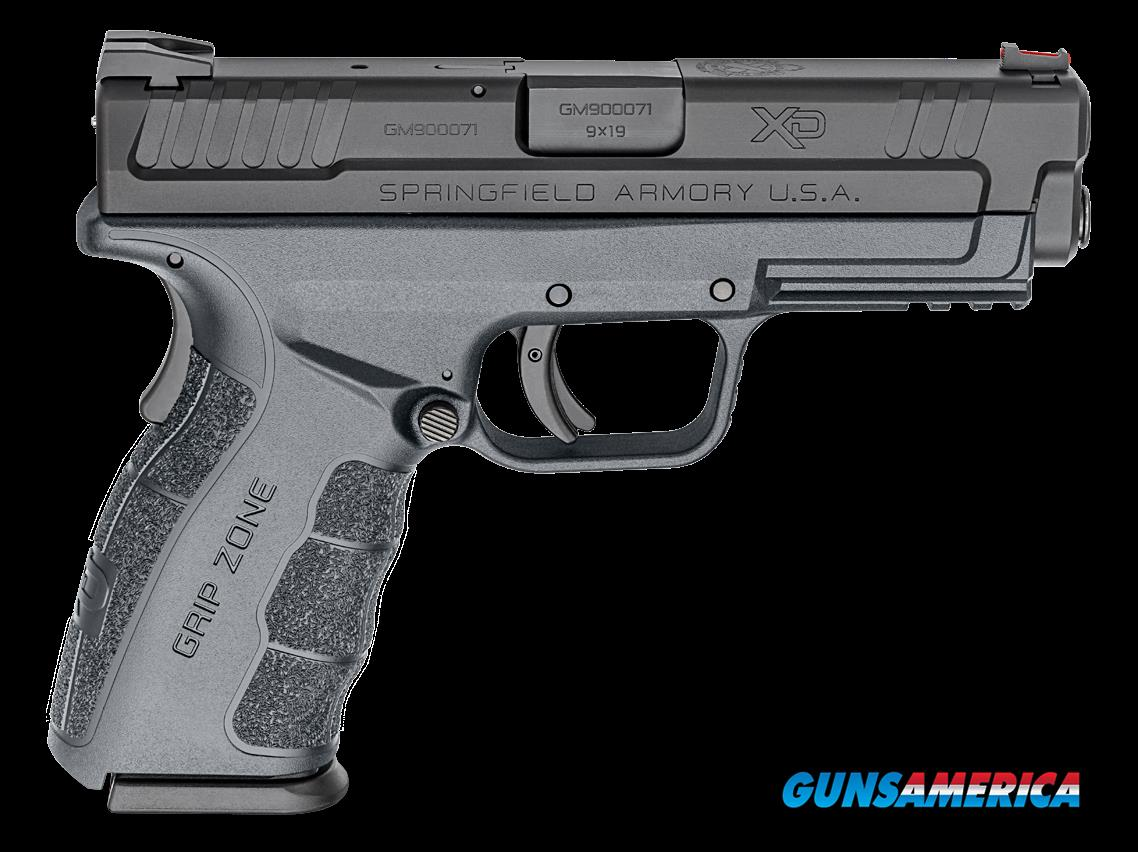 "Springfield Armory XDG9101YHC XD Mod 2 Double 9mm 4.0"" 16+1 Gray Polymer Grip Gray  Guns > Pistols > S Misc Pistols"