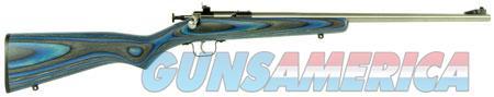 "Crickett KSA2223 Single Shot Laminate Bolt 22 Long Rifle (LR) 16.125"" 1 Laminate Blue Stk Stainless  Guns > Rifles > Crickett-Keystone Rifles"