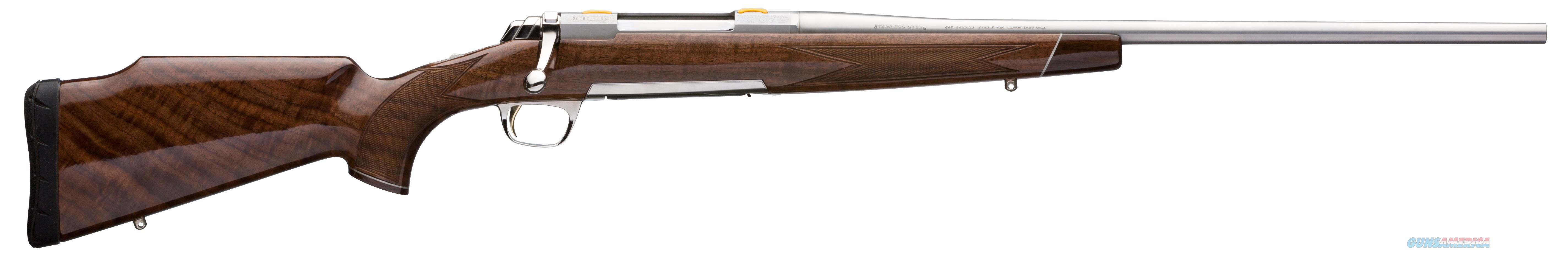 "Browning 035235227 X-Bolt White Gold Bolt 7mm Remington Magnum 26"" 3+1 Walnut Stk Stainless Steel  Guns > Rifles > Browning Rifles > Bolt Action"