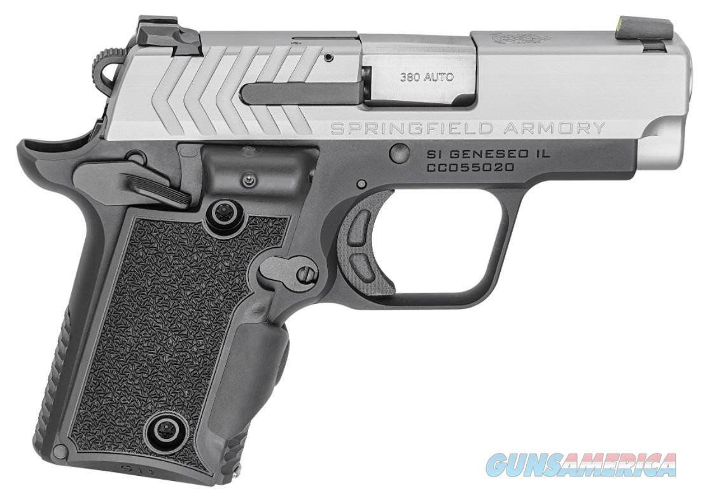Springfield Armory 911 380ACP BITONE 2.7 GRN LSR GREEN VIRIDIAN LASER   2 MAGS  Guns > Pistols > Springfield Armory Pistols > 1911 Type