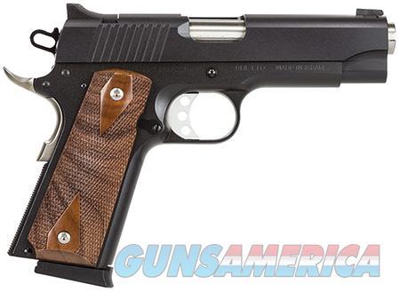 """Magnum Research DE1911C Desert Eagle 1911 C 45 ACP Single 4.33"""" 8+1 Wood Grip Black Carbon Steel  Guns > Pistols > Magnum Research Pistols"""