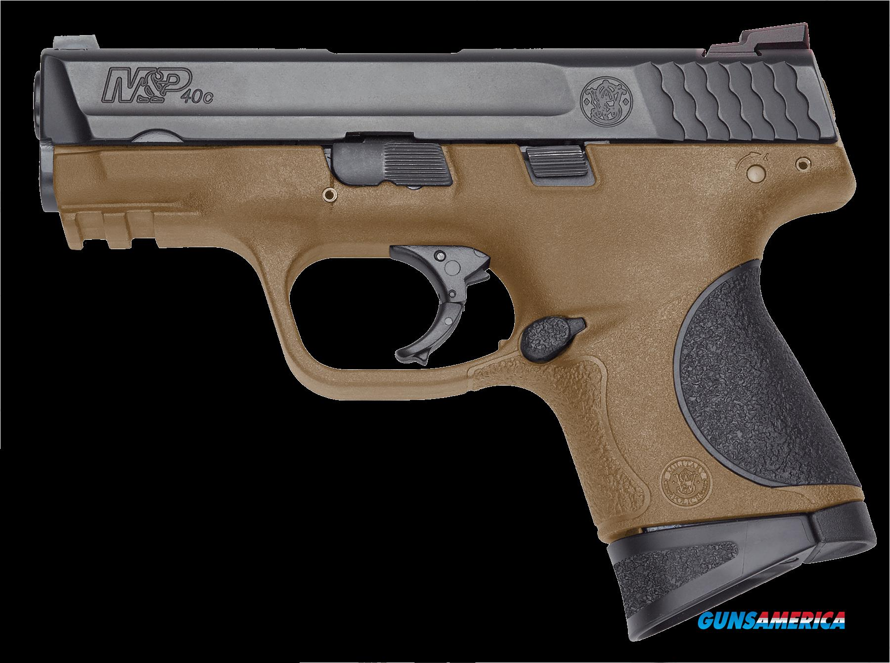 "Smith & Wesson 10190 M&P 40 Compact Double 40 Smith & Wesson (S&W) 3.5"" 10+1 Black Polymer Grip  Guns > Pistols > S Misc Pistols"