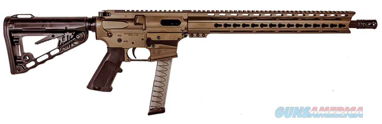 "Diamondback DB9RBB DB9 Rifle Semi-Automatic 9mm Luger 16"" 31+1 Magpul MOE Black Stk Black Nitride  Guns > Rifles > D Misc Rifles"