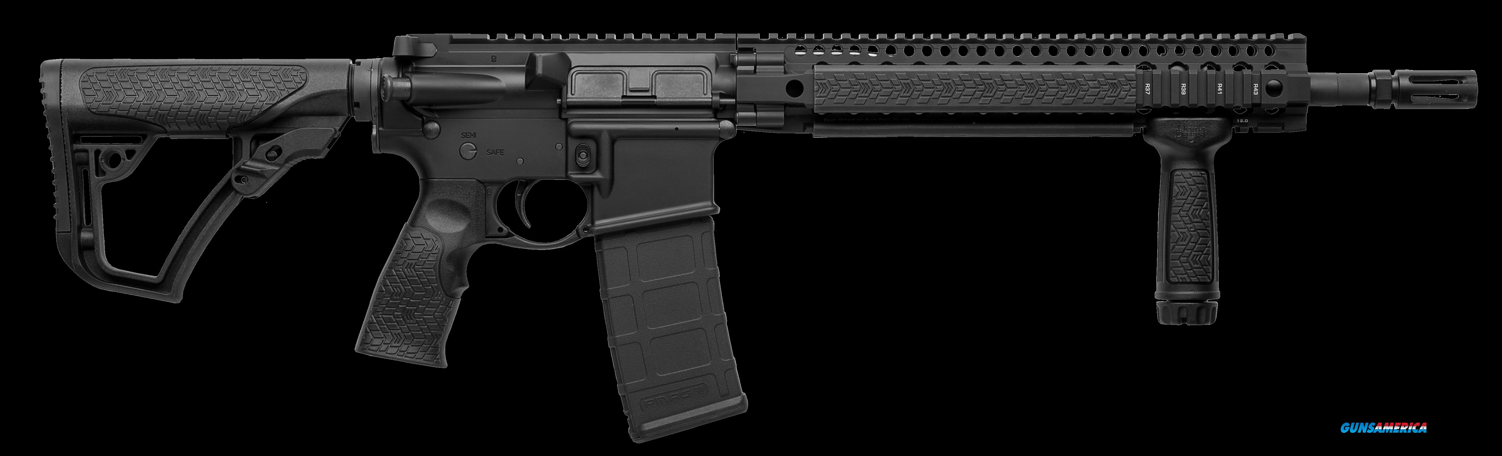 "Daniel Defense 02049047 DDM4 V5S Semi-Automatic 223 Remington/5.56 NATO 14.5"" 30+1 6-Position Black  Guns > Rifles > Daniel Defense > Complete Rifles"