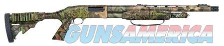 """Mossberg 53265 500 Tactical Turkey Pump 12 Gauge 20"""" 5+1 3"""" 6 Position w/Shell Holder Stock Steel  Guns > Shotguns > Mossberg Shotguns > Pump > Sporting"""