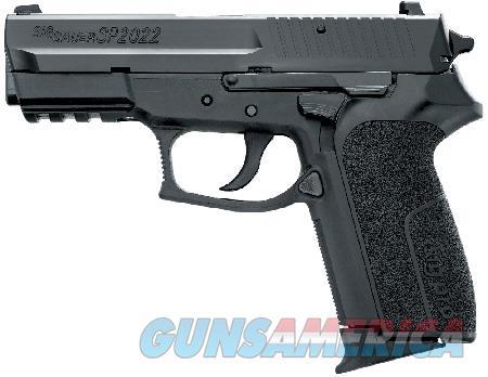 "Sig Sauer SP20229BSS SP2022 Full Size 9mm Luger 3.90"" 10+1 Black Nitride Stainless Steel Black  Guns > Pistols > Sig - Sauer/Sigarms Pistols > 2022"