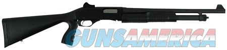 "Stevens 22439 320 Security Pump 20 Gauge 18.50"" 5+1 3"" Black Fixed w/Pistol Grip Stock Blued Carbon  Guns > Shotguns > Savage Shotguns"