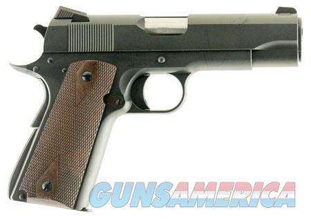 "Dan Wesson 01947 A2 Commander  45 ACP Single 4.25"" 8+1 Walnut Grip Blued Slide  Guns > Pistols > CZ Pistols"