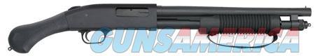 """Mossberg 50657 590 Shockwave Blued Pump 20 Gauge 14.375"""" 3"""" 6+1 Black Fixed Synthetic Raptor Grip  Guns > Shotguns > MN Misc Shotguns"""