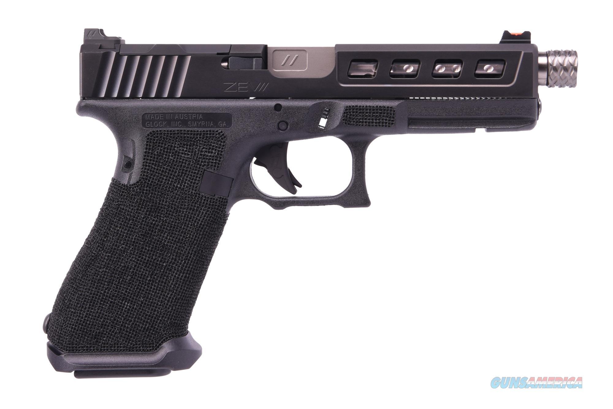 ZEV TECHNOLOGIES ZEV G17 G4 BLK 9MM 17+1 TB LP.GM-B17-TH  Non-Guns > Miscellaneous