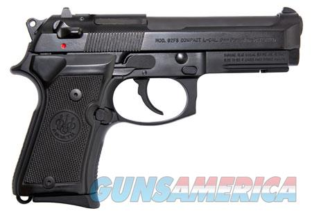 "Beretta USA J90C9F11 92FS Compact  with Rail 9mm Luger Single/Double 4.3"" 10+1 Black Synthetic Grip  Guns > Pistols > Beretta Pistols > Model 92 Series"