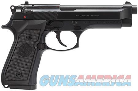 "Beretta USA J92M9A0 M9 Commercial Single/Double 9mm Luger 4.9"" 10+1 Black Synthetic Grip Black  Guns > Pistols > Beretta Pistols > Model 92 Series"