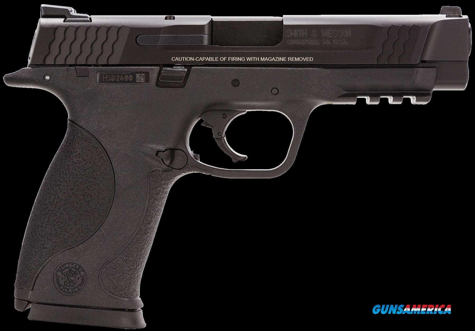 "Smith & Wesson 109306 M&P 45 Double 45 Automatic Colt Pistol (ACP) 4.5"" 10+1 Black Interchangeable  Guns > Pistols > S Misc Pistols"