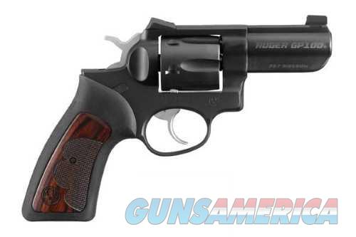 Ruger GP100 WILEY CLAPP 357 3 MATTE 1753  NOVAK SIGHTS  Guns > Pistols > Ruger Double Action Revolver > GP100