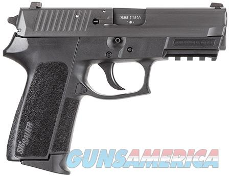 "Sig Sauer E20229B SP2022 Full Size 9mm Luger 3.90"" 15+1 Black Nitron Stainless Steel Black Polymer  Guns > Pistols > Sig - Sauer/Sigarms Pistols > 2022"