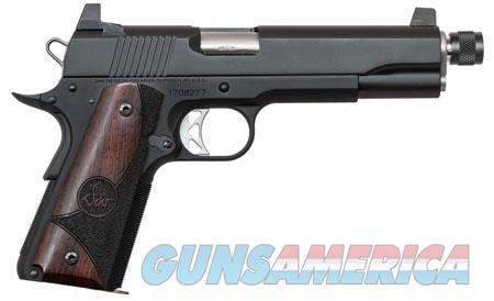 "Dan Wesson 01830 Vigil Suppressor Ready  45 ACP Single 5"" 8+1 Wood Grip Black Stainless Steel Slide  Guns > Pistols > CZ Pistols"