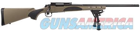"Remington Firearms 84376 700 VTR Bolt 22-250 Remington 22"" 4+1 FDE Fixed w/Black Overmolded Gripping  Guns > Rifles > Remington Rifles - Modern > Model 700"
