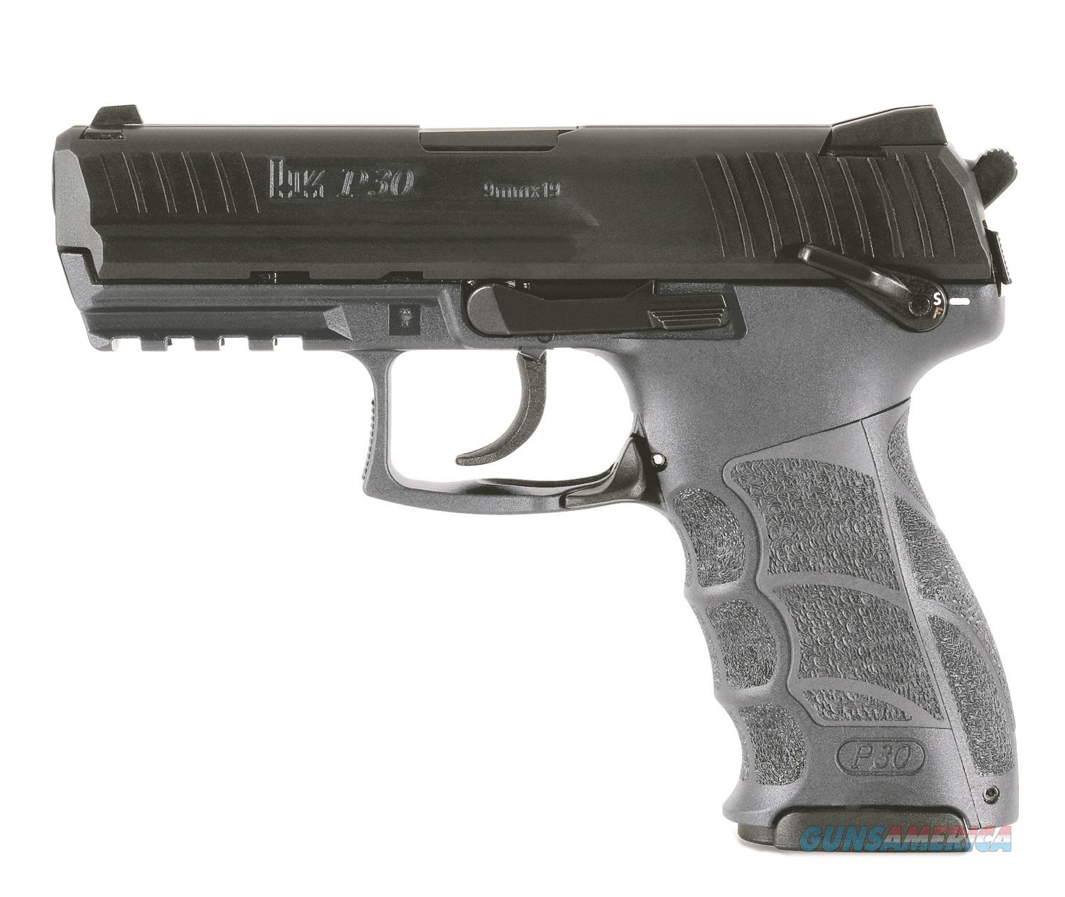 Heckler and Koch (HK USA) P30S V3 9MM BL/GREY 15+1 SAFTY   Guns > Pistols > H Misc Pistols