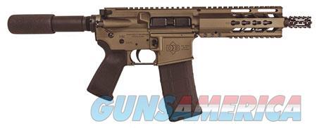 "Diamondback DB15PBB7 DB15 AR Pistol 223 Rem,5.56 NATO 7.50"" 30+1 Burnt Bronze Black Polymer  Guns > Rifles > D Misc Rifles"