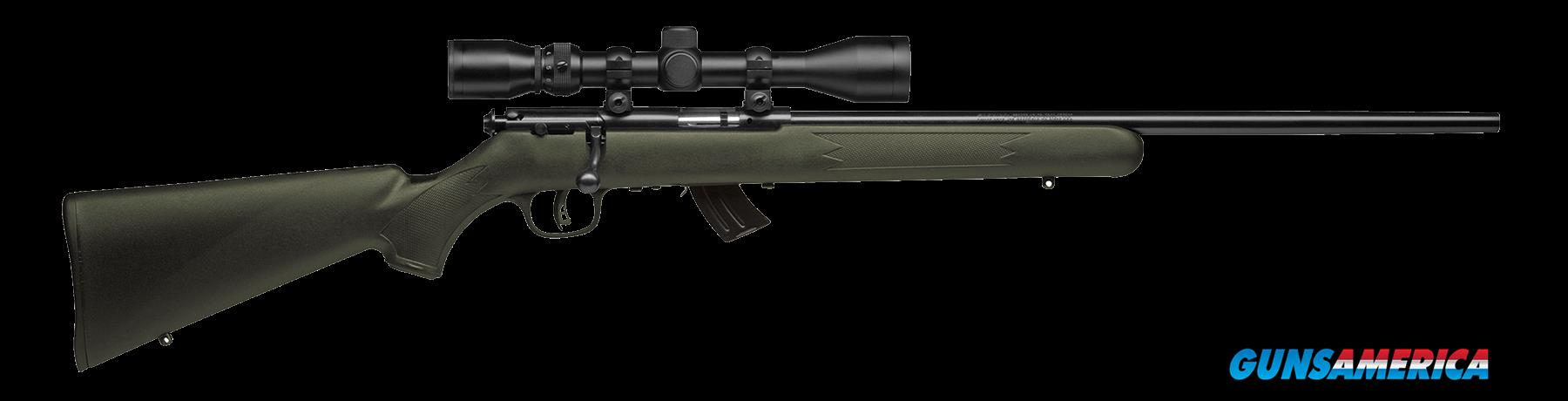 "Savage 26721 Mark II FXP with Scope Bolt 22 Long Rifle 21"" 5+1 Synthetic OD Green Stk Black  Guns > Rifles > S Misc Rifles"