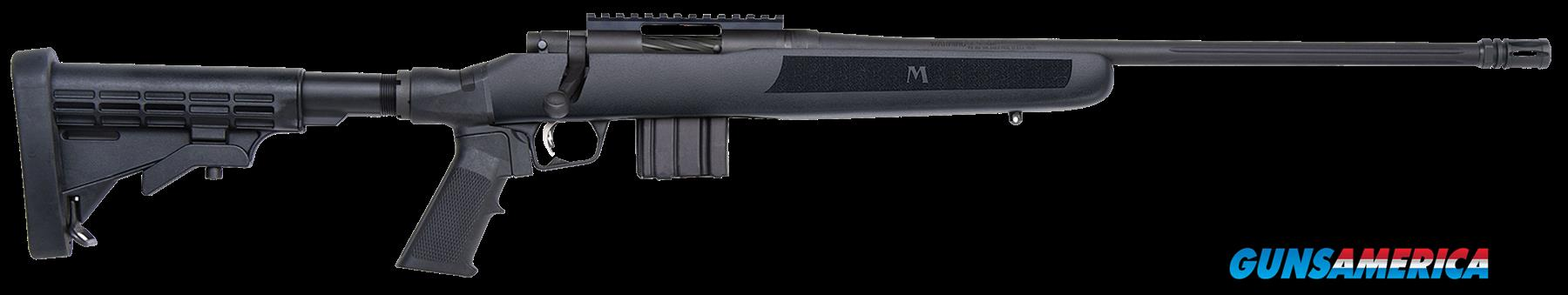 "Mossberg 27746 MVP FLEX Bolt 223 Rem/5.56 NATO 18.5"" TB 10+1 6-Position FLEX Black Stk Blued  Guns > Rifles > Mossberg Rifles > Other Bolt Action"
