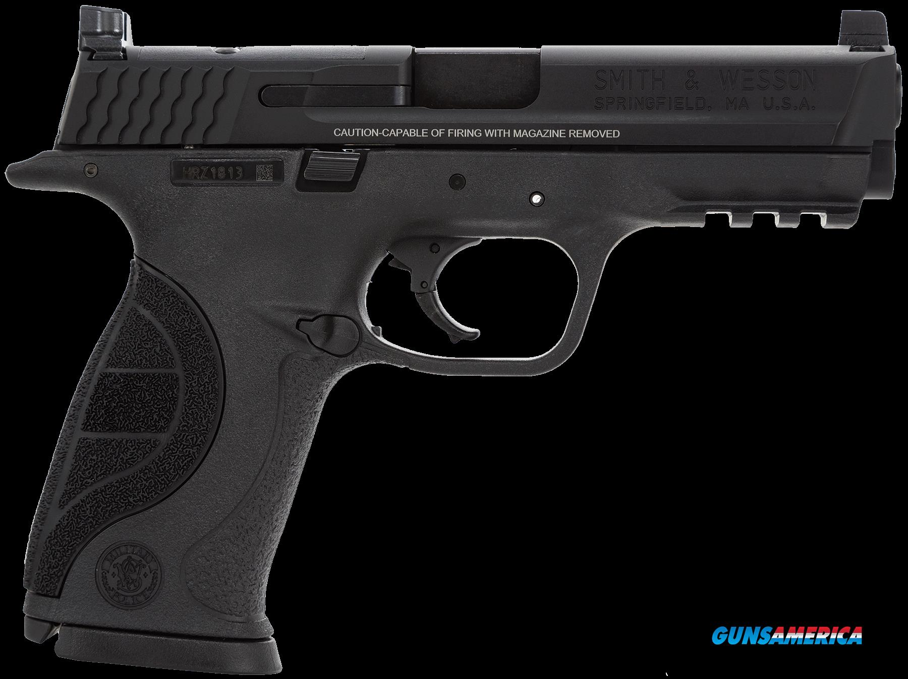 "Smith & Wesson 10049 M&P 9 Pro with C.O.R.E Double 9mm Luger 5"" 10+1 Black Interchangeable Backstrap  Guns > Pistols > S Misc Pistols"